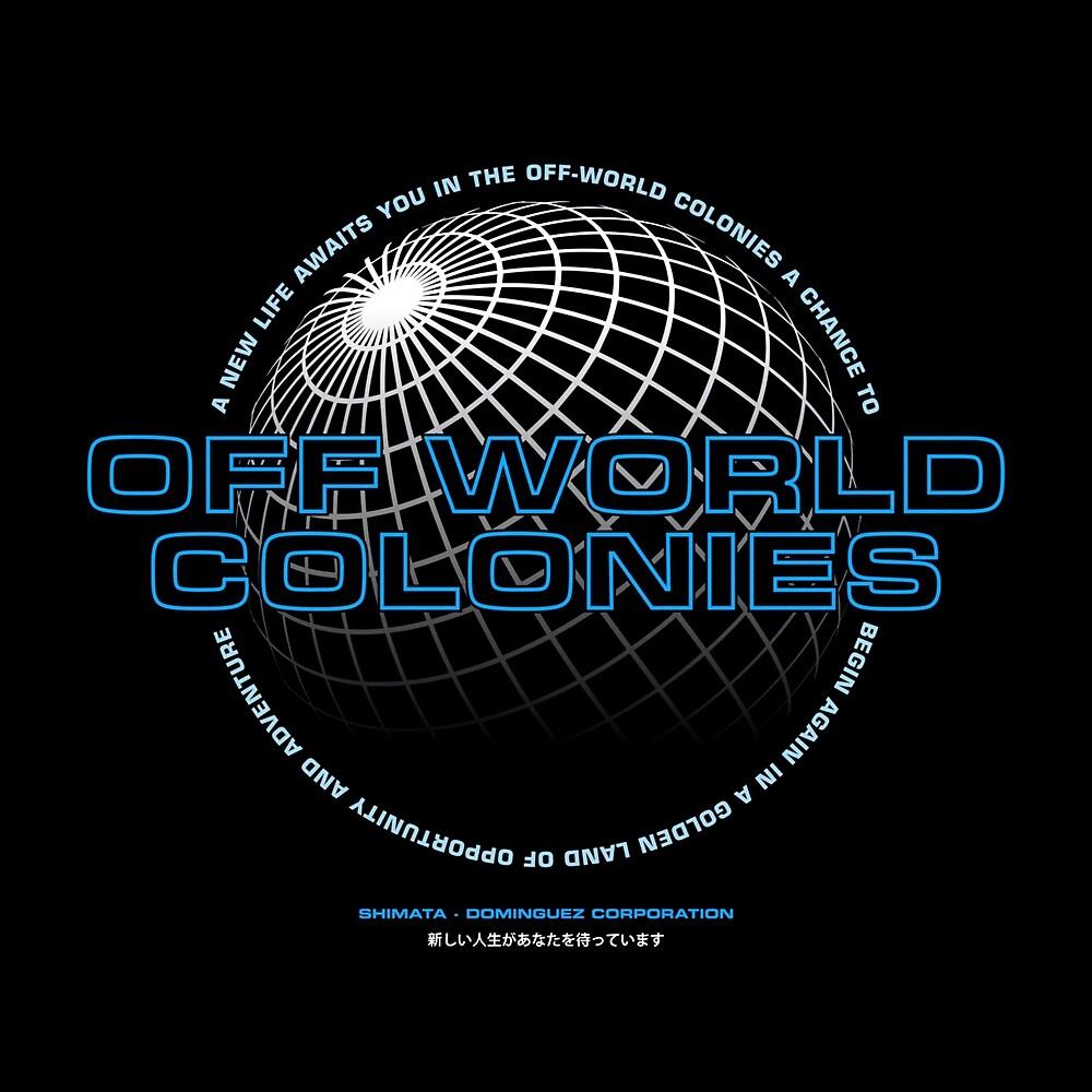 Blade Runner inspiriert - Off World Kolonien von UnconArt