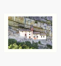 Church from the rock Art Print
