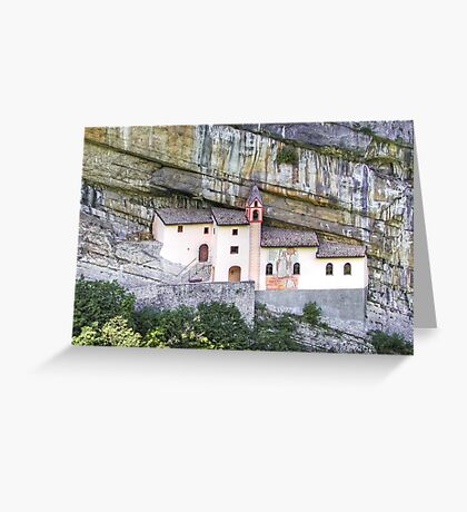 Church from the rock Greeting Card
