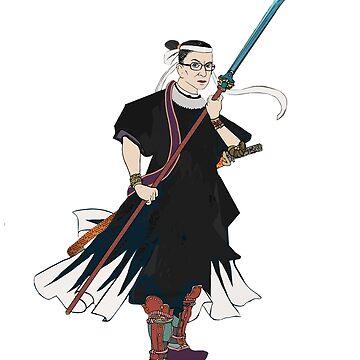 Warrior Surpreme (no bkgd). by johngieg