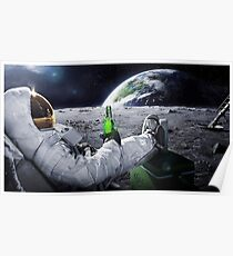 Space Beer Poster