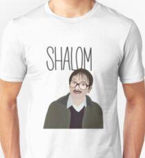 Jim Friday Night Abendessen Shalom Jackie Slim Fit T-Shirt