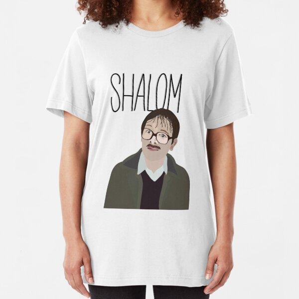 Jim Friday Night Dinner Shalom Jackie Slim Fit T-Shirt