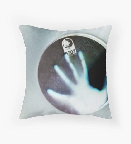 Percussion!!! Throw Pillow