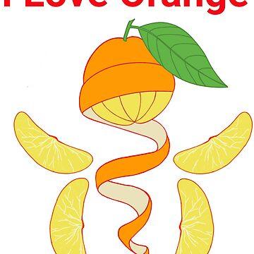 I Love Orange by leororing
