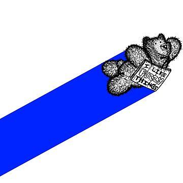 Super Best Bear Blue by BearlyGoin
