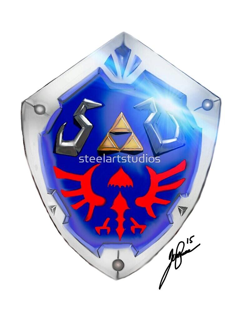 Shield Fan Art By Steelartstudios Redbubble