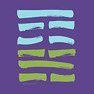 04 Inexperience I Ching Hexagram by SpiritStudio