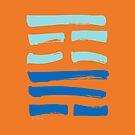 18 Repair I Ching Hexagram by SpiritStudio