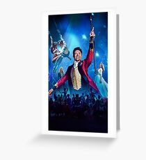 The Greatest Showman Greeting Card