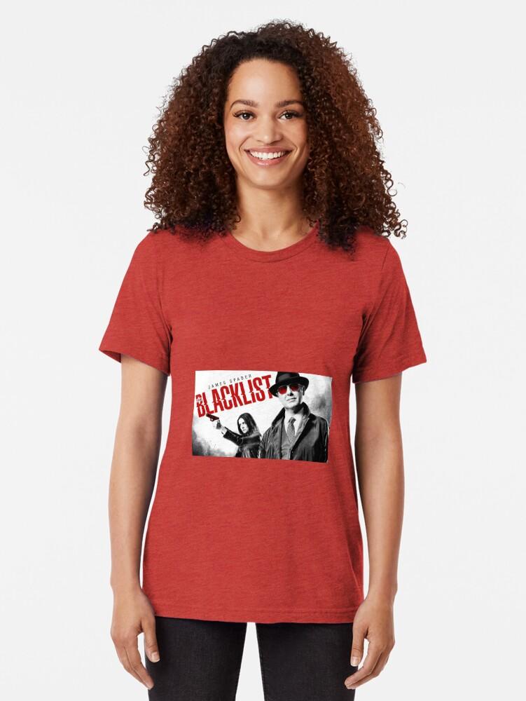 Alternative Ansicht von Die schwarze Liste Vintage T-Shirt