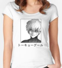 Camiseta entallada de cuello redondo Ken Kaneki
