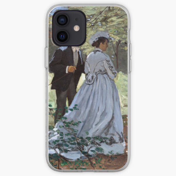 Claude Monet Bazille and Camille iPhone Soft Case