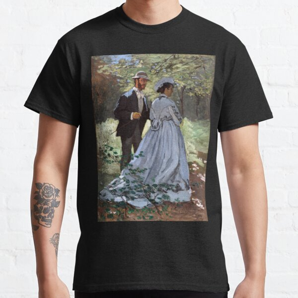 Claude Monet Bazille and Camille Classic T-Shirt