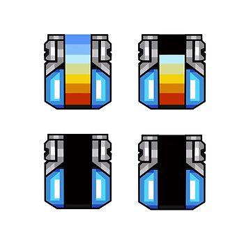Mega Man X Sub Tank by exitStrat