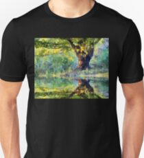Big Tree Beside Pond T-Shirt