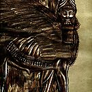Guardian Shedu Of Assyria by Jedro