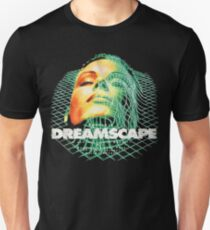 Dreamscape Old Skool Raver Hardcore Techno DnB T-Shirts and More Slim Fit T-Shirt