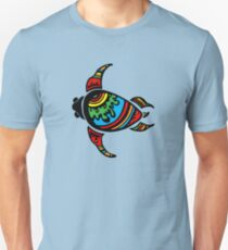Sea Turtle Abstract Unisex T-Shirt