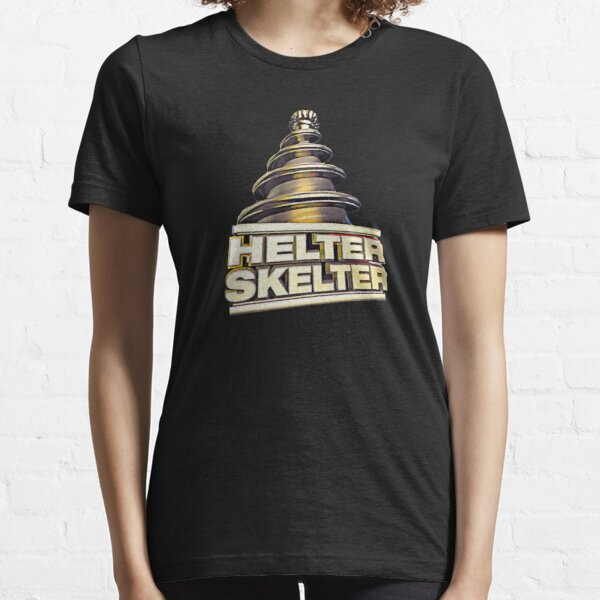 Helter Skelter Old Skool Raver Hardcore Techno DnB Masks T-Shirts and Hoodies Essential T-Shirt