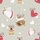 Christmas Elements Design Pattern 2 by Digitalbcon