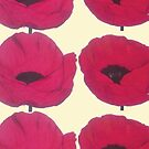 Red Poppies for Pops by Bee Williamson