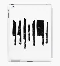 Knife Set  iPad Case/Skin