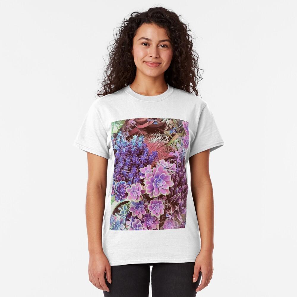 Succulent Garden View Classic T-Shirt