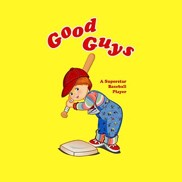 Good Guys - A Superstar Baseball Player by horror-doll