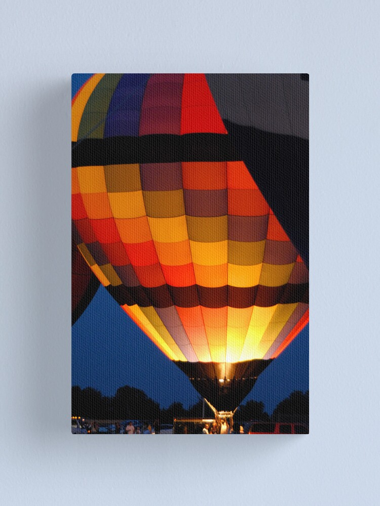 Alternate view of A Beautiful Glow Canvas Print