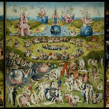 The Garden of Earthly Delights - Hell - Hieronymus Bosch - 1490 - 1510 by billythekidtees