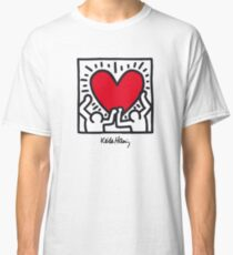Keith Haring Heart Classic T-Shirt