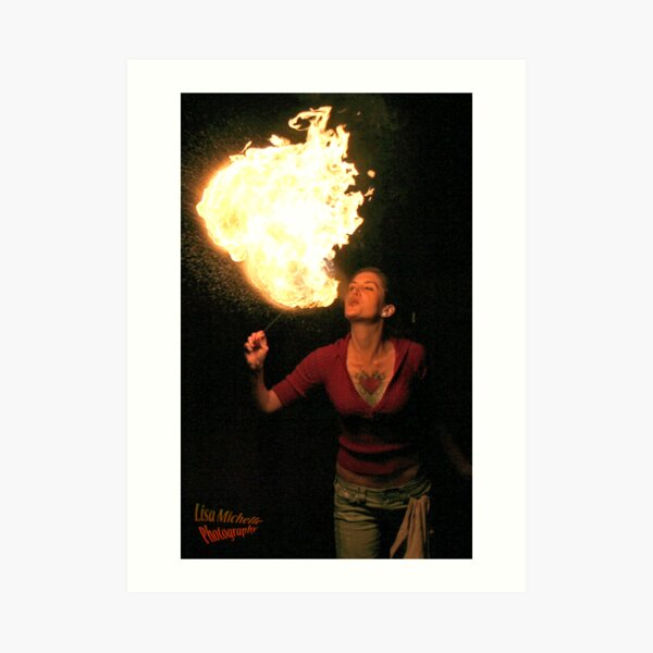 Fire Breather Wall Art | Redbubble