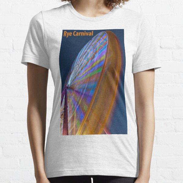 Rye Carnival ferris wheel at dusk Essential T-Shirt