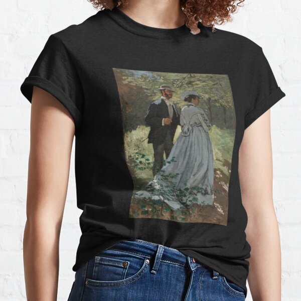 Monet - Bazille and Camille - Classic Art Classic T-Shirt