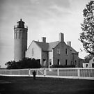 Old Mackinac Point Lighthouse by Bob Hardy