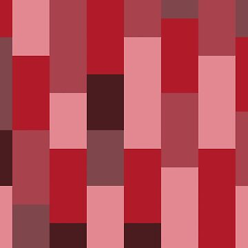 Abstract striped bars red by Russell102