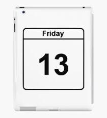 Freitag der 13 iPad-Hülle & Klebefolie