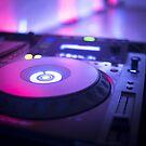 House dance music dj deejay turntable mixing desk nightclub party Ibiza by edwardolive