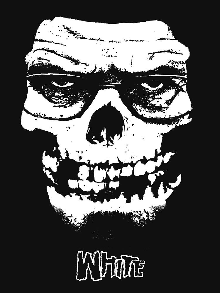 TShirtGifter presents: WHITE | Unisex T-Shirt
