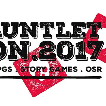 Gauntlet Con 2017 Official Logo by redmagus77