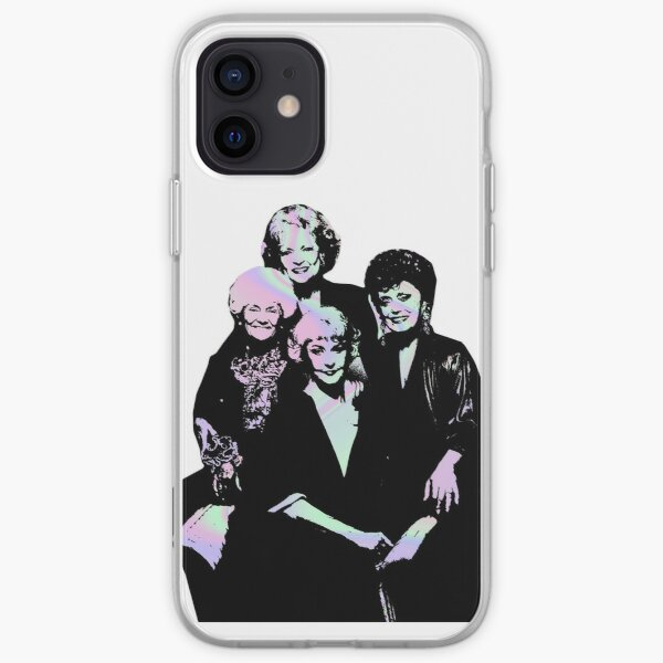 Golden girls- holographic iPhone Soft Case