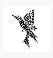 Bird Tribal Tattoo Dibujo Láminas Fotográficas Redbubble
