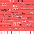 How to Live the Write Life by Robin Hackett