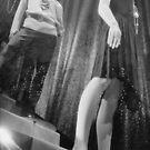Shop dummy female mannequins black and white 35mm analog film photo by edwardolive