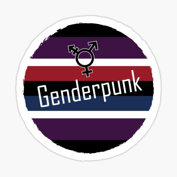 Genderpunk Pegatina