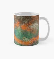 Orange Disc Mug