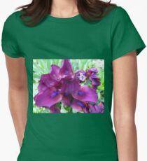 Arresting Irises Womens Fitted T-Shirt