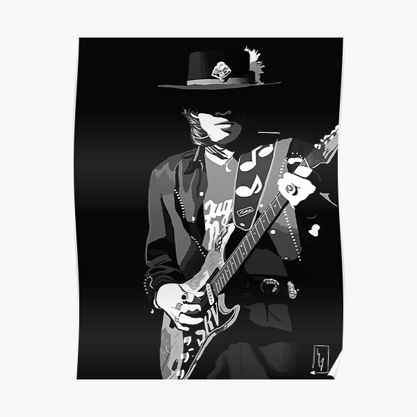 Stevie Ray Vaughan Print/Poster Poster