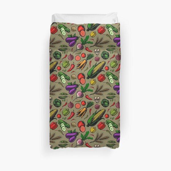Veggiephile - Veggies Duvet Cover
